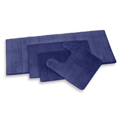 Microdry® Ultimate Performance THE ORIGINAL Memory Foam Contour Mat in Medium Blue