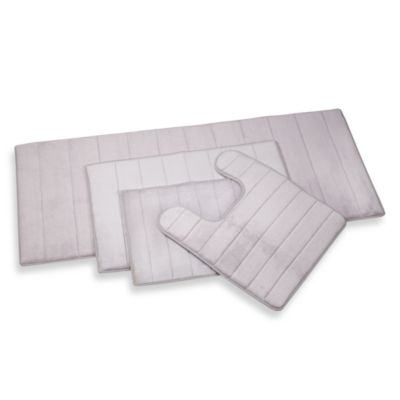 Microdry® Ultimate Luxury Memory Foam Contour Mat in Grey