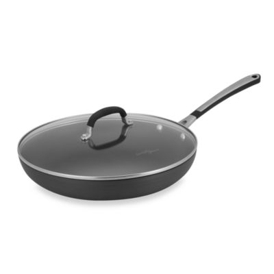 Simply Calphalon® Nonstick 12-Inch Covered Fry Pan