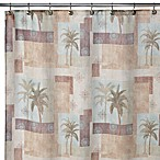 Palm Collage 70-Inch W x 72-Inch L Shower Curtain
