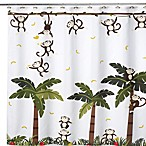 Motion Monkey II 70-Inch W x 71-Inch L Shower Curtain