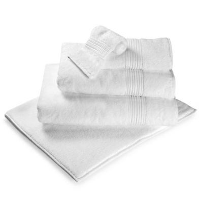 Turkish Modal Hand Towel in White