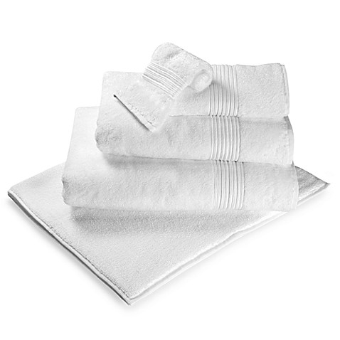 Turkish Modal Bath Mat in White