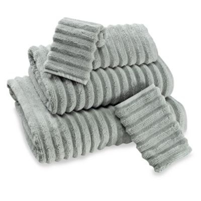 Turkish Ribbed Hand Towel in Sage