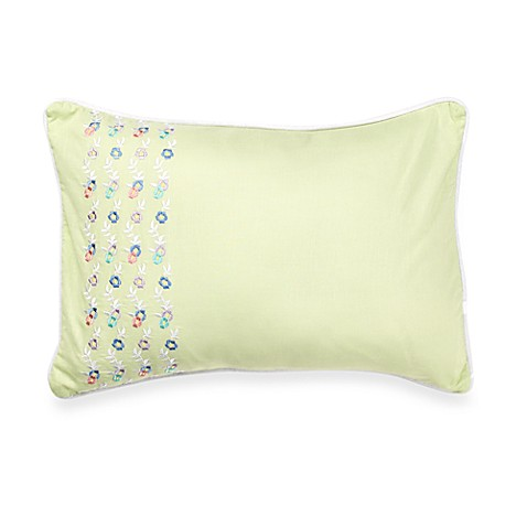Laura Ashley Marabel Blue Breakfast Pillow