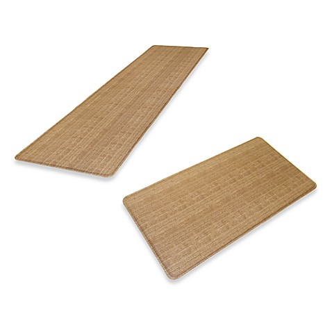 GelPro® Wicker Chef's Mat in Saddle