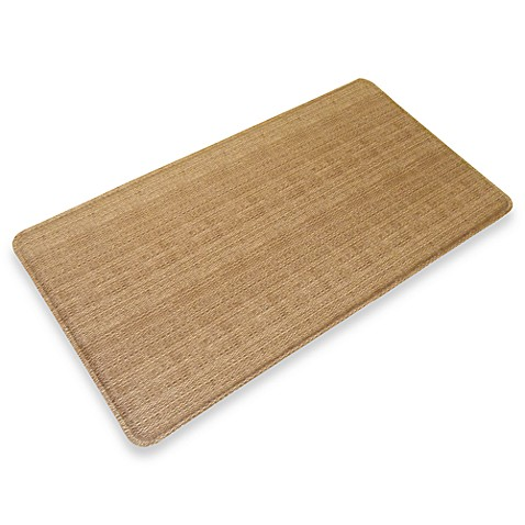 GelPro® Wicker 20-Inch x 48-Inch Chef's Mat in Saddle
