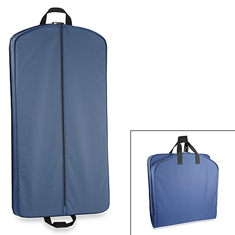 WallyBags® 40-Inch Suit Length Garment Bag in Navy