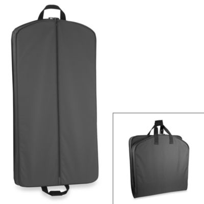 WallyBags® 40-Inch Suit Length Garment Bag in Black