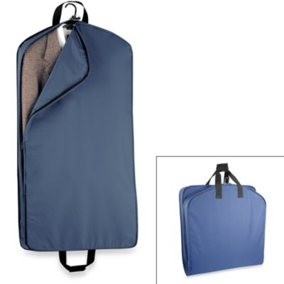 WallyBags® 42-Inch Suit Length Garment Bag in Navy