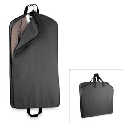 WallyBags® 42-Inch Suit Length Garment Bag in Black