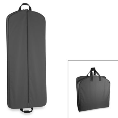 WallyBags® 52-Inch Dress Length Garment Bag in Black