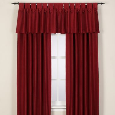 Reina 54-Inch Tab Top Window Panel in Merlot
