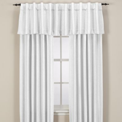 Reina Rod Pocket/Back Tab Window Valance