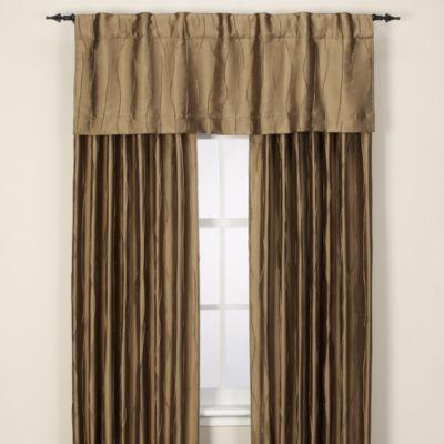 Venice 72-Inch Rod Pocket/Back Tab Window Curtain Panel in Dark Green