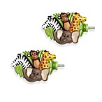 Jungle Palz Finials (Set of 2)
