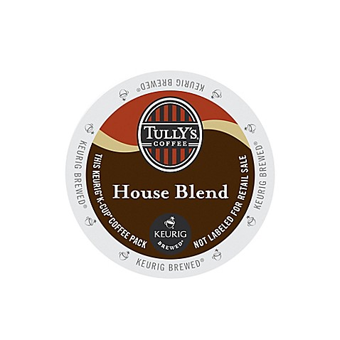 Keurig® K-Cup® Pack 18-Count Tully's® Extra Bold House Blend Coffee