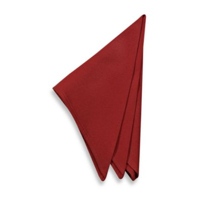 Riviera Napkins in Cherry (Set of 2)