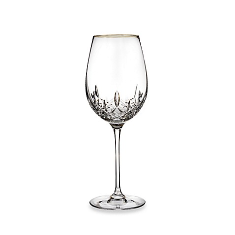 Waterford® Lismore Essence Gold 19-Ounce Goblet