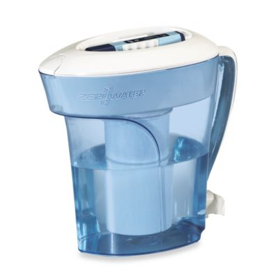 ZeroWater® 10-Cup Pitcher Water Filtration System