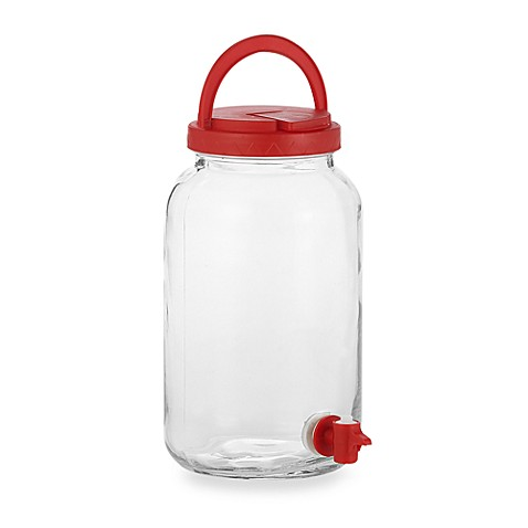Del Sol Easy Pour Jug with Red Lid