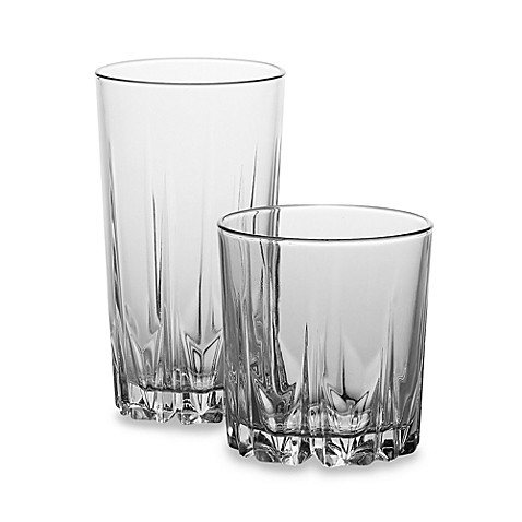 Diamante 16-Piece Glassware Set