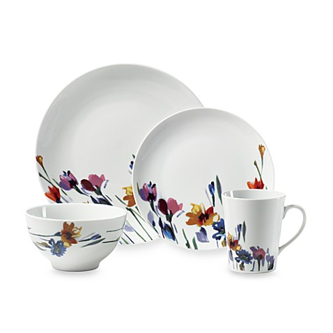Gourmet Basics by Mikasa® Watercolors 16-Piece Dinnerware Set