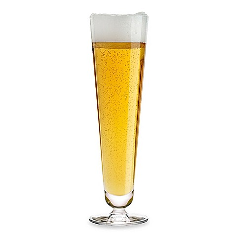 Luigi Bormioli Crescendo Pilsner Glass (Set of 4)