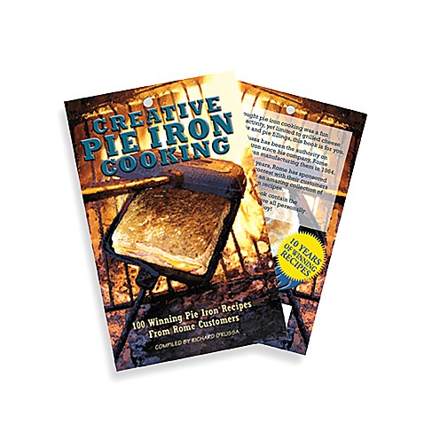 Rome Industries® Pie Iron Cooking Recipe Book