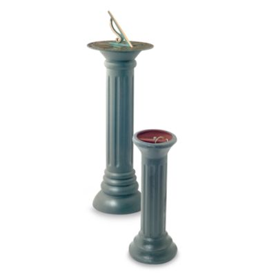 Rome Industries® 28-Inch Cast Iron Column Sundial Pedestal