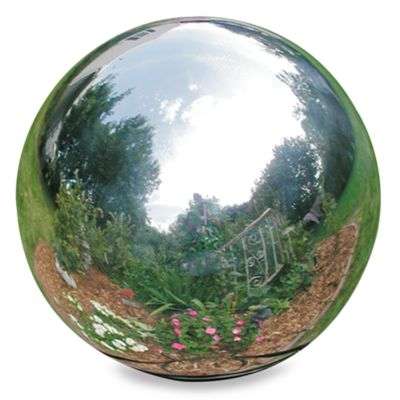 Rome Industries® 12-Inch Gazing Ball in Stainless Steel