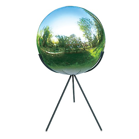 Rome Industries®  Tri-Pod Pedestal Base for 10-Inch Gazing Balls in Wrought Iron