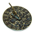 Rome Industries®  Grapevine Sundial in Brass