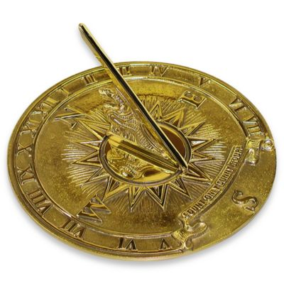Rome Industries® Nautical Sundial in Brass
