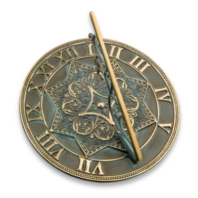 Rome Industries® Gothic Sundial in Brass