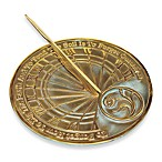 Rome Industries®  Gardener Sundial in Brass