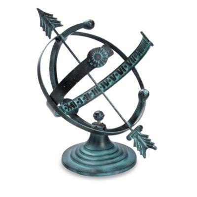 Rome Industries® Armillary Sundial in Aluminum
