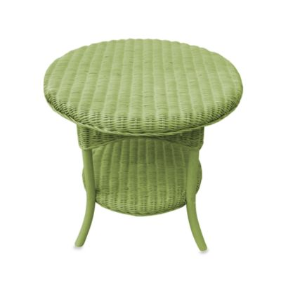 Shar Side Table in Green