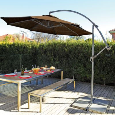 Coolaroo® 10' Cantilever Umbrella in Mocha