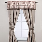 Manor Hill® Lark Brown 84-Inch Window Curtain Panel