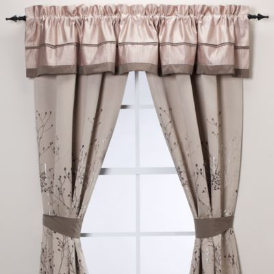 Manor Hill® Lark Brown Window Valance