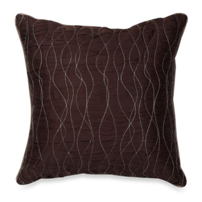 Manor Hill® Lark Brown 18-Inch Square Toss Pillow