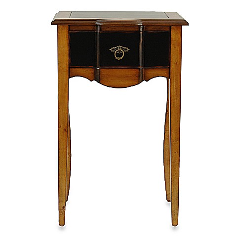 Safavieh American Home Sologna Black and Cherry Side Table