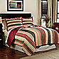 Perry Stripe Quilt, 100% Cotton