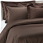 Palais Royale Hotel Collection Duvet Cover in Chocolate