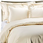 Palais Royale Hotel Collection Duvet Cover in Ivory