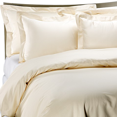 Palais Royale™ Hotel Collection King Duvet Cover in Ivory