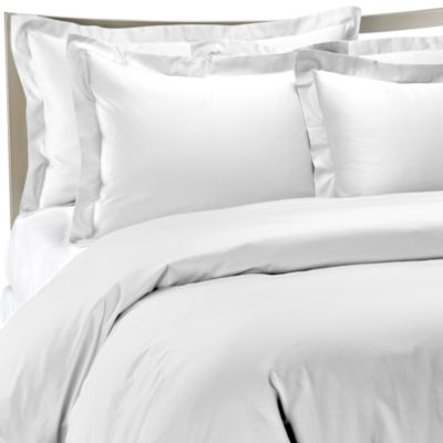 Palais Royale™ Hotel Collection King Duvet Cover in White