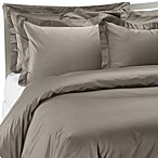 Palais Royale Hotel Collection Duvet Cover in Stone