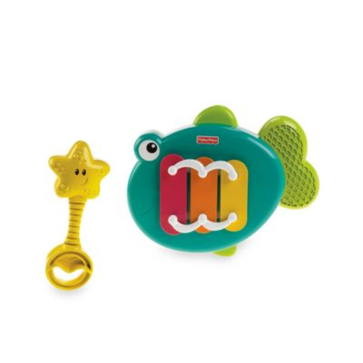 Fisher-Price® Growing Baby™ Musical Tune Xylo Fish - from Fisher Price